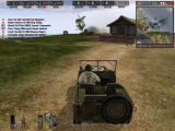 Battlefield 1942 Windows Third-person view of the Jeep