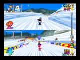 Snowboard Kids Nintendo 64 2-player game on Rookie Mountain