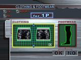 Ultimate Fighting Championship PlayStation Creating a fighter - items of clothing.