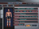 Ultimate Fighting Championship PlayStation Custom fighter