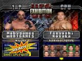 Ultimate Fighting Championship PlayStation Exhibition mode