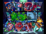 Mega Man X4 PlayStation Megaman X and Double pick a stage.