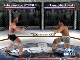 Ultimate Fighting Championship PlayStation Fight start