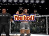 Ultimate Fighting Championship PlayStation End of fight