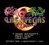 Vegas Stakes SNES Title Screen (Japanese)