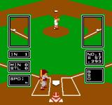 Major League Baseball NES Standard viewpoint for pitching and batting