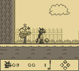 Itchy & Scratchy in Miniature Golf Madness Game Boy Tee Off