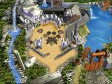 3-D Ultra Pinball: The Lost Continent Windows 3.x Woeful Waters table