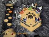 3-D Ultra Pinball: The Lost Continent Windows 3.x Colored Chasms table