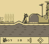 Itchy & Scratchy in Miniature Golf Madness Game Boy At last...  the first hole.