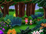 Dora the Explorer: Lost City Adventure Windows Here in the forest there are stars to collect.