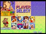 Super Puzzle Fighter II Turbo PlayStation Player select