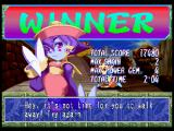 Super Puzzle Fighter II Turbo PlayStation Hsien-Ko winner screen