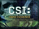 CSI: Crime Scene Investigation - Hard Evidence Windows Title screen