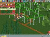 RollerCoaster Tycoon Windows Guest tend to throw up on the roller coasters.