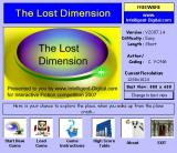 The Lost Dimension Windows Title screen / start menu