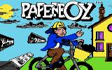 Paperboy Apple IIgs Loading screen