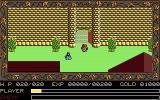 Ys: The Vanished Omens Apple IIgs Adol starts out at the town gates