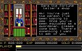 Ys: The Vanished Omens Apple IIgs The fortune teller will give you your mission