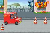 Postman Pat and the Greendale Rocket Game Boy Advance Driving with Jess the cat in the Pat's van...