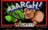 AAARGH! Apple IIgs Title screen