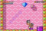 Warioland 4 Game Boy Advance Throwing an old man