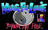 Kung Fu Louie Vs. The Martial Art Posse DOS Title Screen
