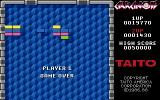 Arkanoid Apple IIgs Game over
