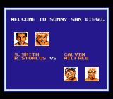 Kings of the Beach NES First match: Smith and Stoklos vs. Calvin and Hilfred
