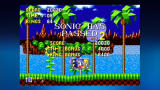 Sonic the Hedgehog Xbox 360 When you finish a stage, your points are tallied up.