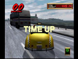 Crazy Taxi 2 Dreamcast Time Up = Game Over