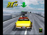 Crazy Taxi 2 Dreamcast Crazy Road