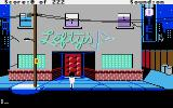 Leisure Suit Larry in the Land of the Lounge Lizards Apple IIgs You start out outside Lefty's bar