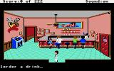 Leisure Suit Larry in the Land of the Lounge Lizards Apple IIgs Inside the bar
