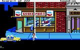 Leisure Suit Larry in the Land of the Lounge Lizards Apple IIgs Outside the shop