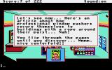 Leisure Suit Larry in the Land of the Lounge Lizards Apple IIgs Browsing the magazine rack