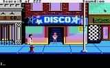 Leisure Suit Larry in the Land of the Lounge Lizards Apple IIgs Outside the fancy disco