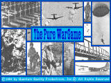 The Pure Wargame DOS Title screen