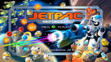 Jetpac Refuelled Xbox 360 Title screen