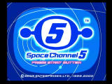Space Channel 5 Dreamcast Title Screen