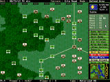 The Pure Wargame DOS Tactical map