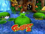 Frogger 2: Swampy's Revenge Windows Title screen