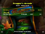 Frogger 2: Swampy's Revenge Windows The level replay and arcade