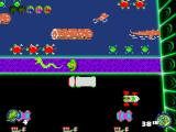 Frogger 2: Swampy's Revenge Windows Look out! A pixel snake! The deadliest of them all!!