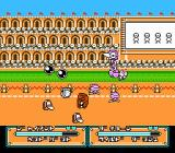 Joy Mecha Fight NES The fight against the stage one boss, using the seventh captured robot.