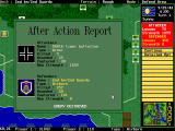 The Pure Wargame DOS Combat result report