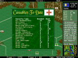 The Pure Wargame DOS Overall casualities statistics
