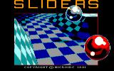 Sliders Amstrad CPC Title screen