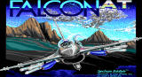 Falcon A.T. DOS title screen