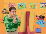 Blue's Clues: Blue's Art Time Activities Windows Steve gets into an artistic frame of mind